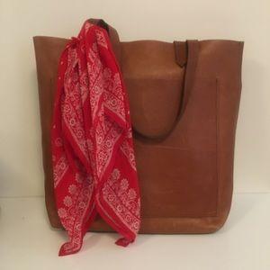 Madewell 100% Cotton Red Paisley Bandana